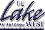 the lake of the ozarks west logo