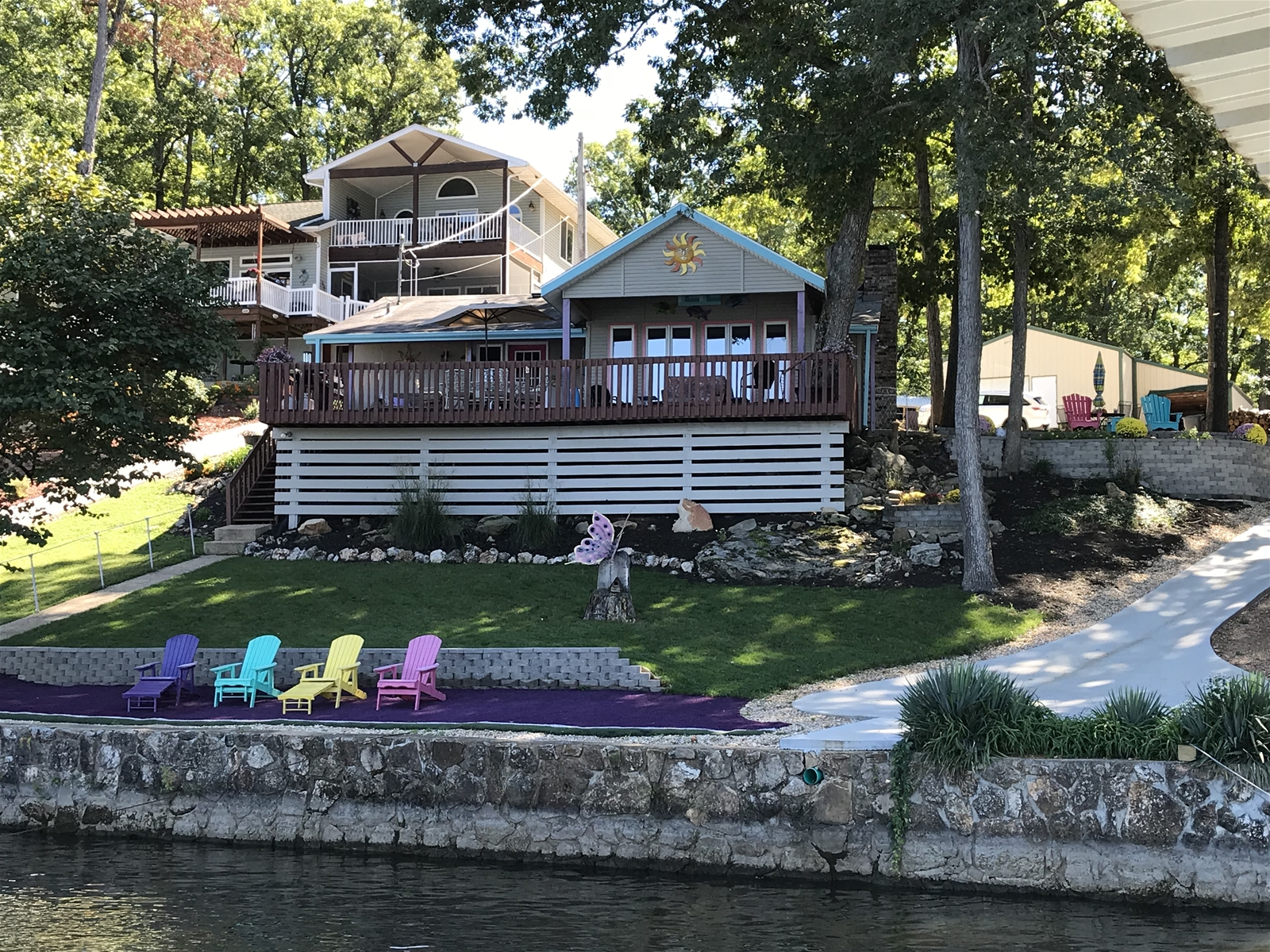 lake of the ozarks lakefront vacation rental